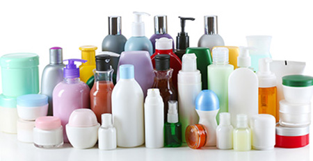 image of tons of cosmetic bottles