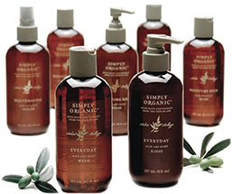 image of simply organic hair care