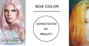 box color expectation reality
